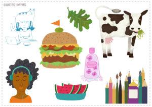 iconen voor website of magazine, Studio Annelieke