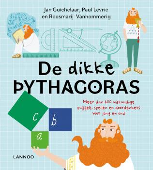 Cover, De dikke Pythagoras' van Lannoo uitgevers
