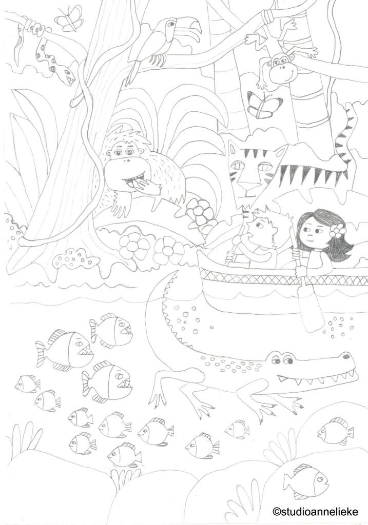 schets-onderboven-jungle